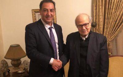 فاروق القدومي يعرب عن دعمه للكونغرس الفلسطيني الاقتصادي العالمي