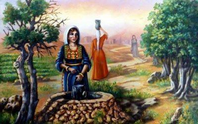بريشة فنان فلسطين فتحي غبن.