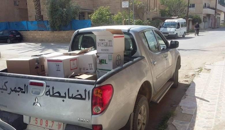 الضابطة الجمركية تعاملت مع 781 قضية وأتلفت 27 طنا من المواد منتهية الصلاحية الشهر الماضي