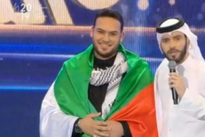 """الفلسطيني """"عبد المجيد عريقات"""" يفوز بالمركز الثاني بمسابقة مُنشد الشارقة"""