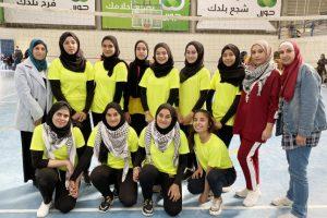 فوز بنات جنين ببطولة كرة الطائرة لمديريات الشمال