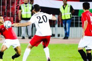 تعثر منتخب فلسطين أمام اليمن