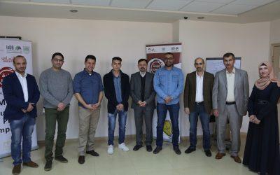 جامعة بوليتكنك فلسطين ومؤسسة التعاون يحتضنان 12 مشروع ناشئ