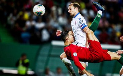تشيكيا تفاجىء انجلترا ورونالدو يترك بصمة في هزيمة لوكسمبورج وفوز خارجي صعب لفرنسا