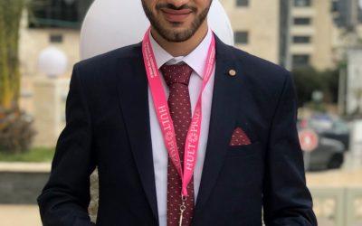 اختيار طالب من الجامعة العربية الامريكية كأفضل مدير حدث على مستوى العالم ضمن مسابقة HULT Prize