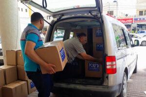 جمعية إغاثة أطفال فلسطين تنتهي من توزيع 300 طرد في قرى جنين وطوباس وغور الاردن