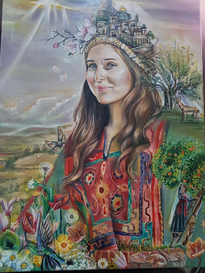 """فوز جامعة بوليتكنك فلسطين بالمراكز الأولى بمُسابقة الرسم """"صورة من بلدي"""""""