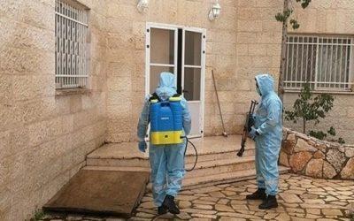 إغلاق يعبد واليامون في جنين بعد اكتشاف اصابتين بكورونا