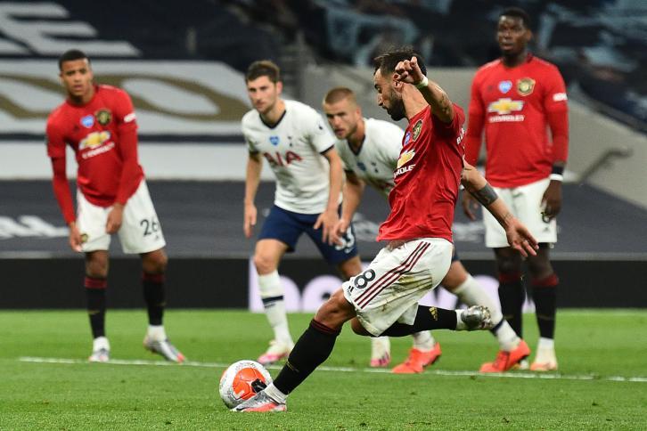 بطولة انكلترا: تعادل متأخر لمانشستر يونايتد في توتنهام بعد الاسئتناف