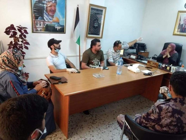 تنمية رام الله تلتقي إغاثة أطفال فلسطين