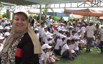 جمعية كي لا ننسى تحيي مهرجان للطفل بفقرات ترفيهية وتوزيع شنط مدرسية على الاطفال