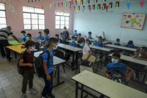 """العام الدراسي ينطلق بإجراءات البروتوكول الصحي لمواجهة تحديات """"كورونا"""""""