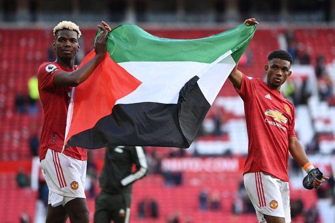 بول بوغبا يتضامن مع فلسطين في قلب ملعب أولترافورد