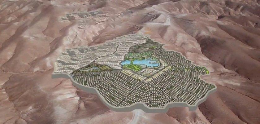 """مدينة """"سما قرنطل"""" بمساحة 6600 دونم وبتكلفة 210 مليون دولار"""