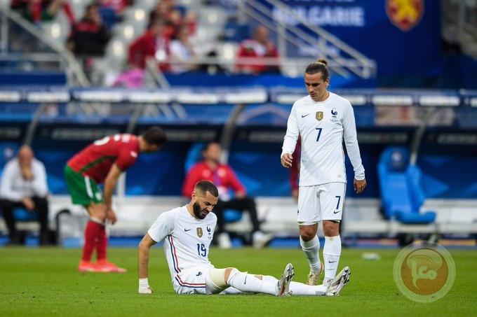 إصابة مقلقة تداهم بنزيما قبل يورو 2020