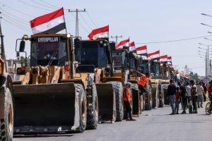 اقتصاد غزة: الواردات من مصر زادت و2500 عامل فقدوا أعمالهم