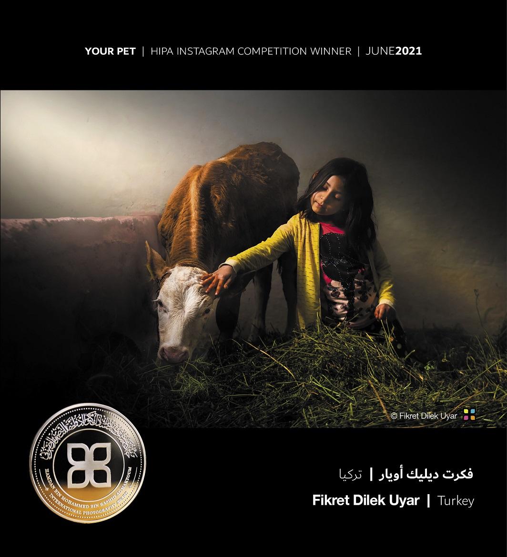 """جائزة حمدان بن محمد للتصوير تنشر الصور الفائزة بمسابقة """"حيوانك الأليف"""""""