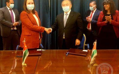 فلسطين والأردن تبحثان تطوير التعاون الاقتصادي وزيادة التبادل التجاري