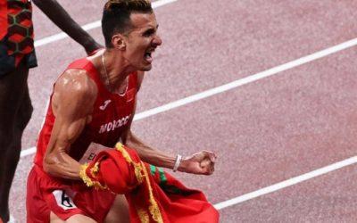 سفيان البقالي يمنح المغرب أول ذهبية في أولمبياد طوكيو