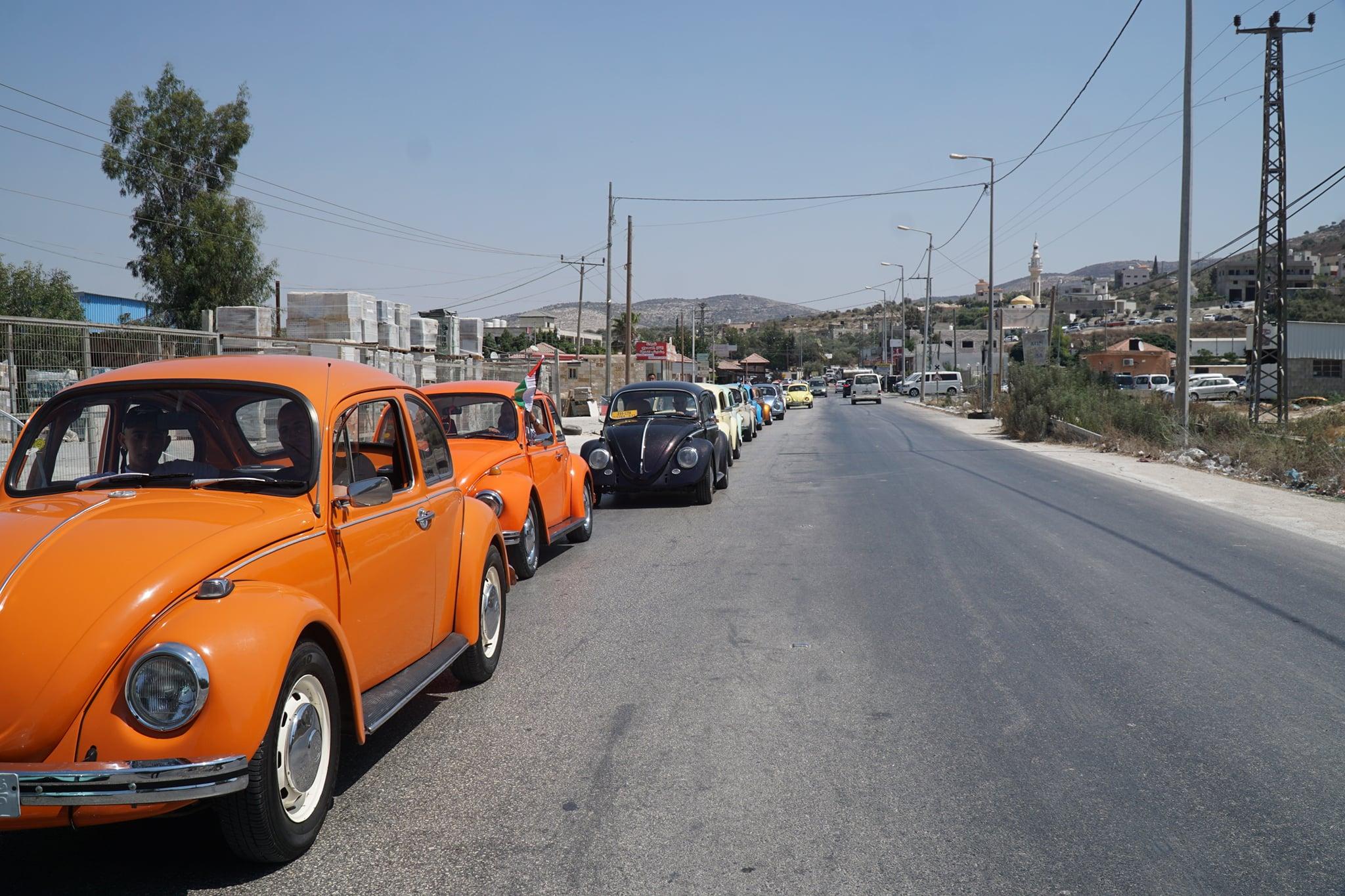 مسيرة للمركبات القديمة في جنين تجسيدا لحق العودة