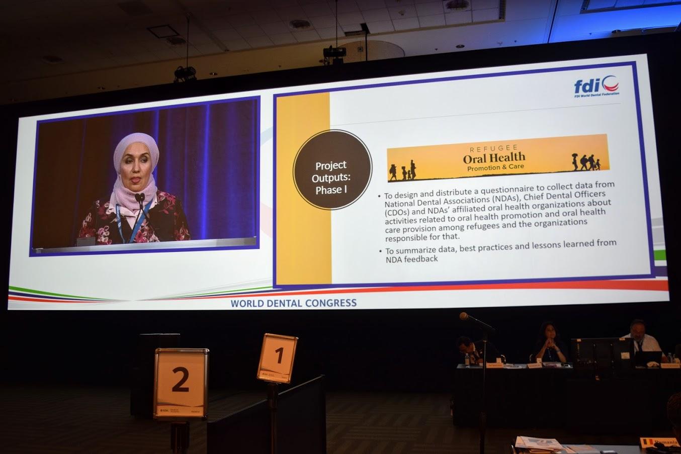 فلسطين تفوز برئاسة لجنة طب الأسنان المجتمعي في الاتحاد العالمي لطب الأسنان